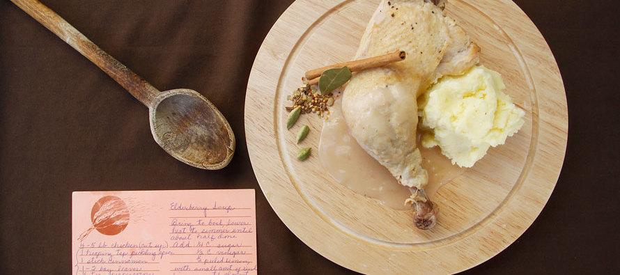 That 70s Dinner: Chicken Elderberry Recipe
