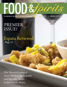 Food & and Spirtis Magaine first 1 issue #1 premier