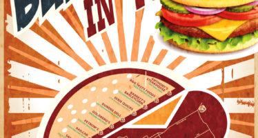 2017 Favorite Burgers Map