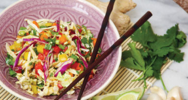 Sweet & Spicy Summer Slaw