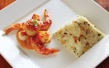 Cook Before You Leap? A recipe for sweet chili caramelized scallops and shrimp
