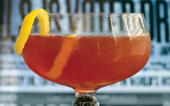 Libation Conversation: The Scofflaw Cocktail