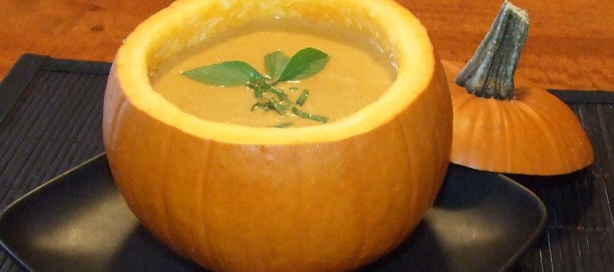 Fall Food Memories:  Thai Pumpkin Bisque Recipe