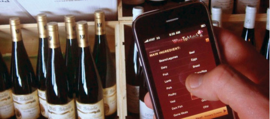 Food & Wine Pairings and the WineToMatch for the iPhone
