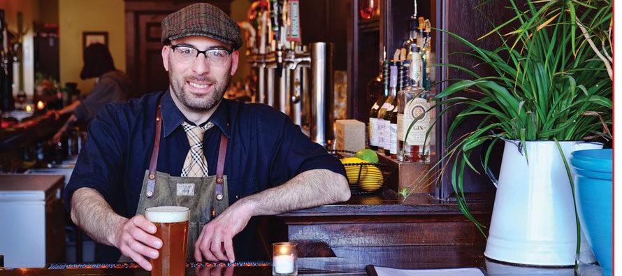 Portrait of Bartender: Alex Lund