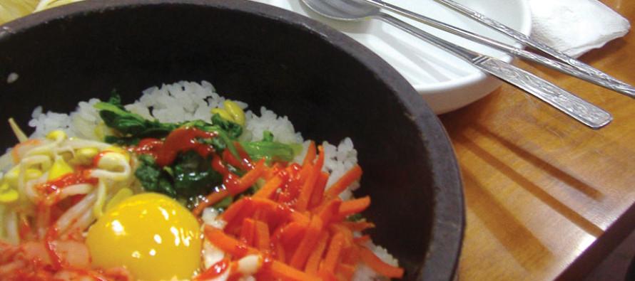 Bonding over Korean Food