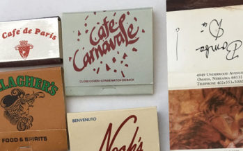 Omaha Restaurant Matchbook Memories