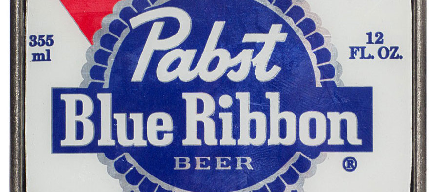 PBR: A Blue Ribbon Beer?