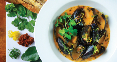Your Own Personal Bistro: Thai Mussel Recipe